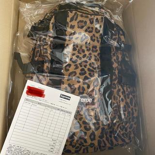 Supreme - Leopard Backpack supreme
