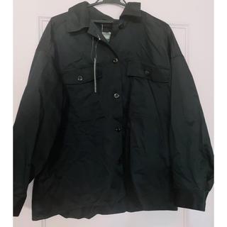 GU - GU オーバーサイズ シャツジャケット