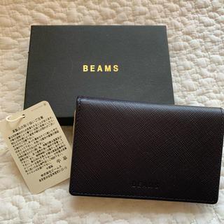 BEAMS - beams 名刺入れ ネイビー