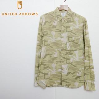 UNITED ARROWS - UNITED ARROWS ユナイテッドアローズ 迷彩柄シャツ