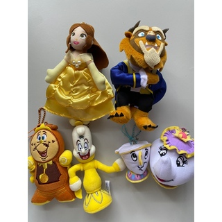 ディズニー(Disney)の【未使用】美女と野獣 ぬいぐるみストラップ(ぬいぐるみ)