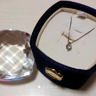 4℃ - 4℃ プラチナ ネックレス ダイヤモンド