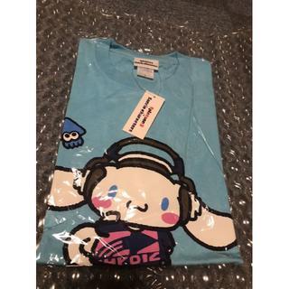 ニンテンドウ(任天堂)の新品 スプラトゥーン Splatoon2 サンリオコラボ シナモロール Tシャツ(Tシャツ/カットソー(半袖/袖なし))