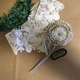 mina perhonen - お花ブローチ タンバリン×jewelry flower