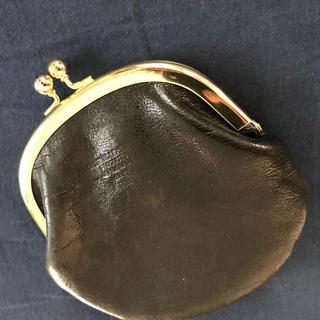 ピュアルセシン(pual ce cin)のpual ce cin ピュアルセシンで購入したがま口財布 ブラック(コインケース)