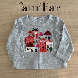 familiar - ファミリア トップス familiar 長袖Tシャツ