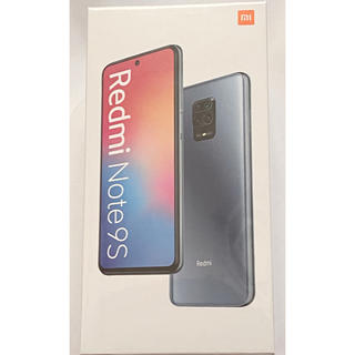 【新品未開封】Xiaomi Redmi Note 9S 4GB/64GBホワイト
