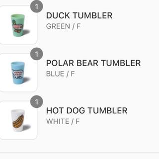 human made TUMBLER 3種セット タンブラー グラス