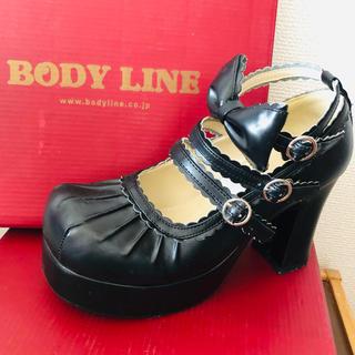 ボディライン(BODYLINE)のコスプレ 厚底ヒール 22.5(靴/ブーツ)