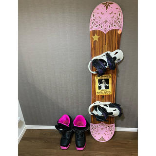 バートン(BURTON)のスノーボード板 レディースセット(ボード)