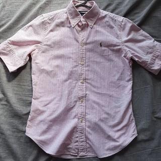 ポロラルフローレン(POLO RALPH LAUREN)のラルフローレン ピンク シャツ(シャツ/ブラウス(半袖/袖なし))