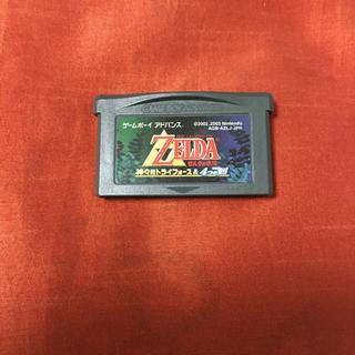 ゲームボーイアドバンス(ゲームボーイアドバンス)のゼルダの伝説 神々のトライフォース&4つの剣 GBA アドバンス ソフト(携帯用ゲームソフト)
