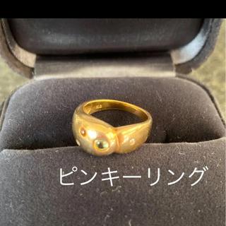 k18ピンキーリング(リング(指輪))