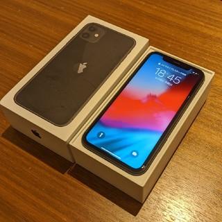 iPhone - 【美品】iPhone11 ブラック Apple Store購入 SIMフリー版