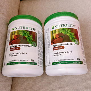 アムウェイ(Amway)のチョコプロテイン 2個 ニュートリライト プロテイン チョコレート味(プロテイン)