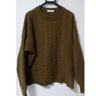 UNUSED - YASHIKI 18aw Ibuki Knit