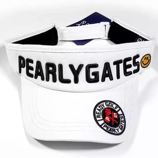 パーリーゲイツ(PEARLY GATES)の⭐︎新品⭐︎ パーリーゲイツ ゴルフキャップ サンバイザー(キャップ)