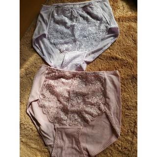 新品 レディース ショーツ LLサイズ お得な2枚セット ピンクと薄紫