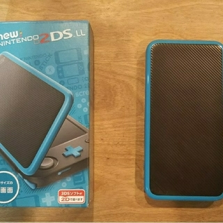 Nintendo ゲーム機本体 NEW ニンテンドー 2DS LL ブラック/タ