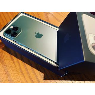 iPhone - iPhone11 Pro 美品 SIMフリー ミッドナイトグリーン