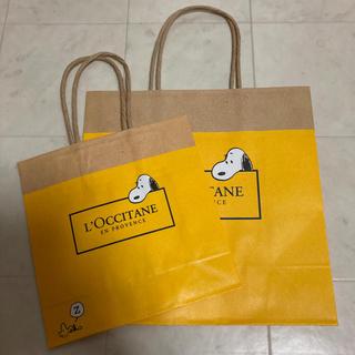 ロクシタン(L'OCCITANE)のロクシタンスヌーピーショップ袋(ショップ袋)