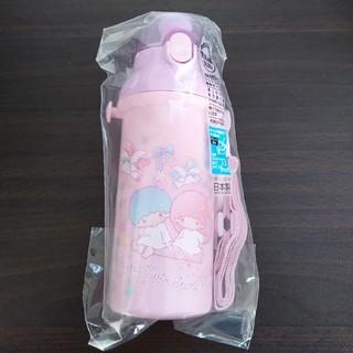 サンリオ - 食洗機対応直飲みプラワンタッチボトル 480ml