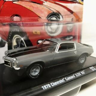 シボレー(Chevrolet)のM2/'70 Chevyシボレー Camaroカマロ Z28 RS 1/64(ミニカー)