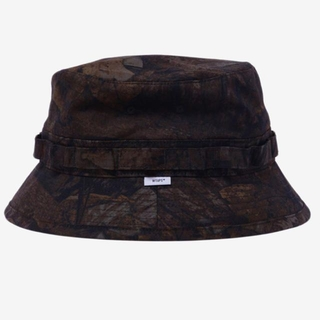 W)taps - Lサイズ JUNGLE HAT COTTON RIPSTOP CAMO