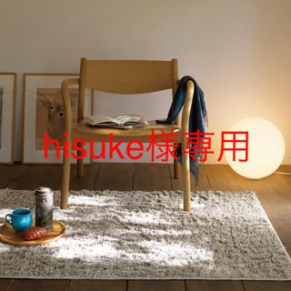 ムジルシリョウヒン(MUJI (無印良品))の無印良品 フロアライト丸・L/カバー:透過/コード:ホワイト 新品未使用 (フロアスタンド)