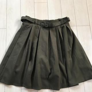 マジェスティックレゴン(MAJESTIC LEGON)のMAJESTIC LEGON パンツ付きスカート(ひざ丈スカート)