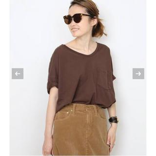 DEUXIEME CLASSE - 新品タグ付 SKARGORN スカルゴーン ポケツキワイドTシャツ ブラウン