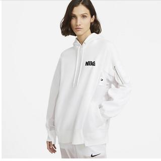 サカイ(sacai)の国内正規品 Nike sacai  Nrg Rh Hoodie パーカー 白 M(パーカー)