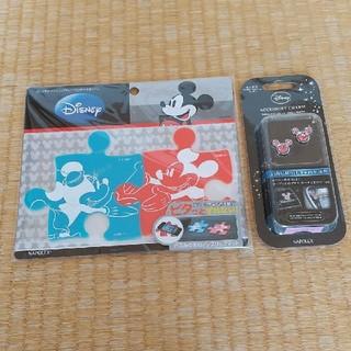 Disney - ディズニー ミッキー ミニー 車 アクセサリー スマホ マット iPhone