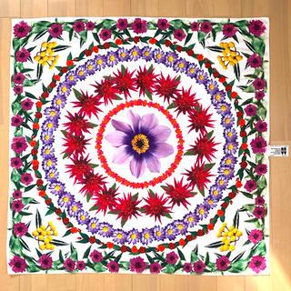 ラッシュ(LUSH)のLUSH Knot Wrap 風呂敷 フラワー 花(バンダナ/スカーフ)
