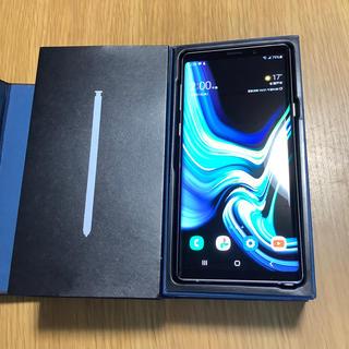 SAMSUNG - Galaxy Note9 北米版 ホワイト 極美品
