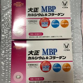 タイショウセイヤク(大正製薬)の大正製薬 大正カルシウム&コラーゲン MBP 2箱セット(コラーゲン)