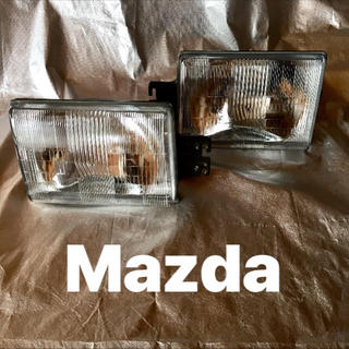 マツダ - 【新品】マツダ純正 ヘッドランプユニット MAZDA
