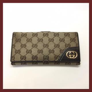 Gucci - GUCCI グッチ 長財布 三つ折り財布