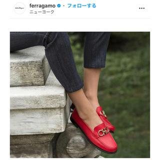 サルヴァトーレフェラガモ(Salvatore Ferragamo)のSalvatore Ferragamo モカシン 新品未使用(ローファー/革靴)