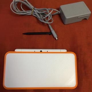 ニンテンドー2DS - Newニンテンドー2DS LL ホワイト オレンジ  本体