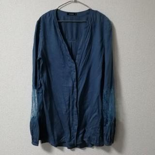 ルシェルブルー(LE CIEL BLEU)のLe ciel bleu ルシェルブルー ドレスシャツ ブラウス 38(シャツ/ブラウス(長袖/七分))