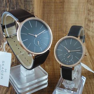 スカーゲン(SKAGEN)の新品 SKAGEN ペア腕時計 1年保証(腕時計)