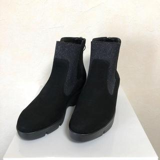 スコットクラブ(SCOT CLUB)のMitu様専用2点 本革サイドゴアブーツ ショートブーツ(ブーツ)