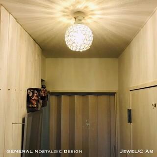天井照明 シーリングライト Jewel/CAm 日本製器具使用 LED電球対応