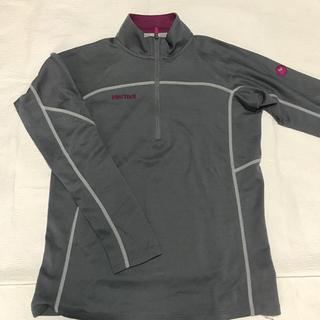 マーモット(MARMOT)のMarmot ジップシャツ レディース Mサイズ(登山用品)