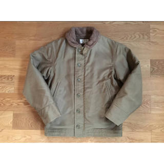 THE REAL McCOY'S - ☆激レア 新品 ダブルネーム N-1 DECK JACKET 36