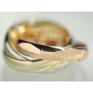 カルティエ(Cartier)の質屋出品ov Cartier カルティエ 3連 トリニティ スリーカラー リング(リング(指輪))