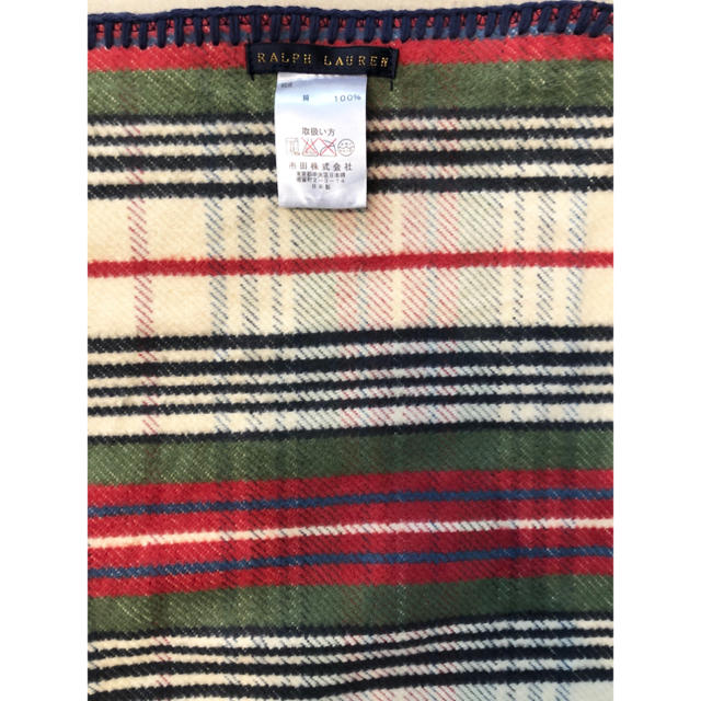 Ralph Lauren(ラルフローレン)のラルフローレン ブランケット キッズ/ベビー/マタニティのこども用ファッション小物(おくるみ/ブランケット)の商品写真