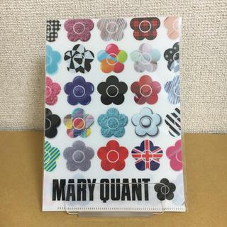 マリークワント(MARY QUANT)のマリークワント クリアファイル(ノベルティグッズ)