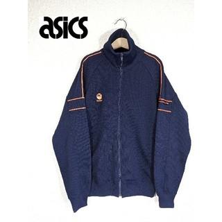 アシックス(asics)のアシックスレコーダー 蛍光オレンジライン ジャージ トラックトップ(ジャージ)